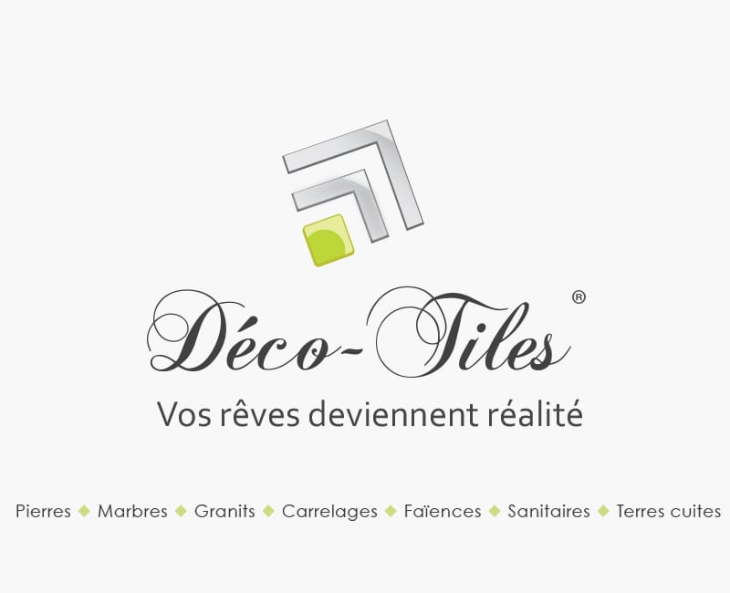 Creation de logo pour Deco Tiles