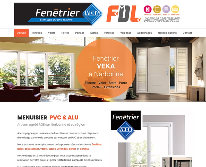 creation site internet FDL Narbonne